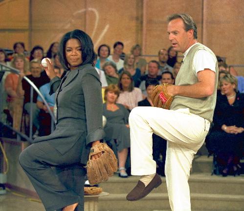 Kevin Costner & Oprah!
