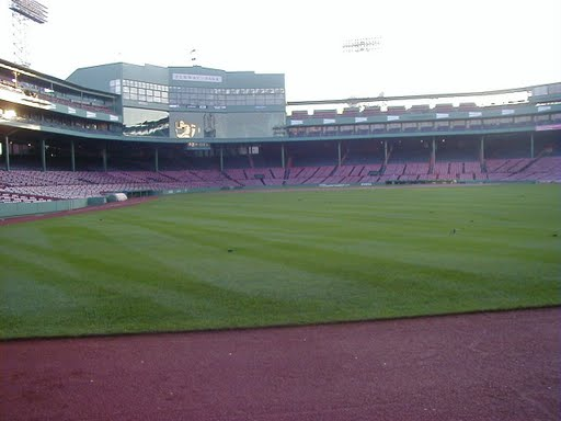 view from Red Sox bullpen